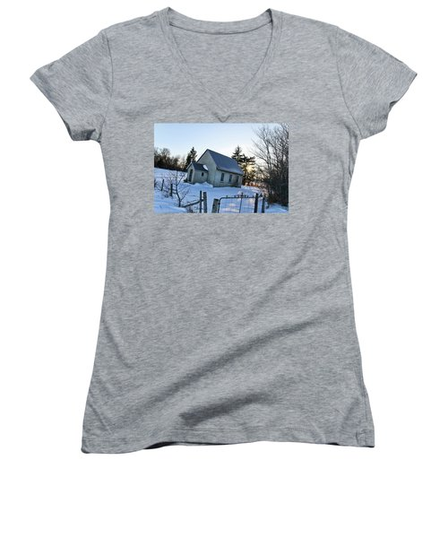 Church On Brewer Road Women's V-Neck