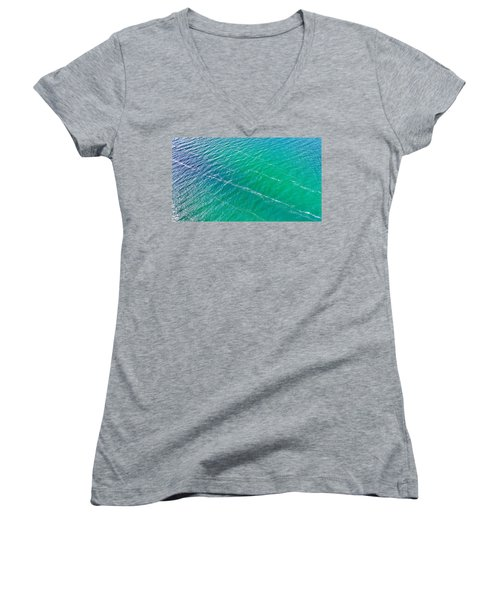 Clear Water Imagery  Women's V-Neck