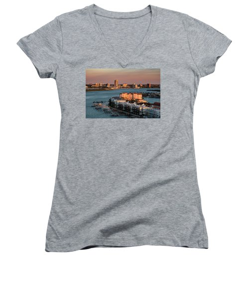 Clearwater Evening Women's V-Neck