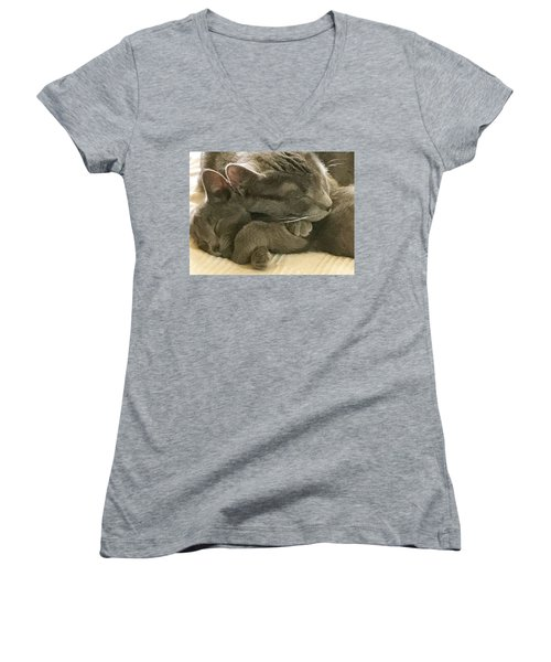 Cloud And Myst Women's V-Neck