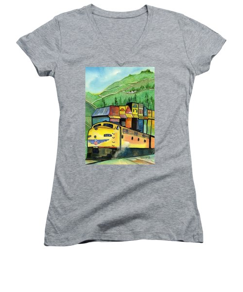 Colfax California Women's V-Neck