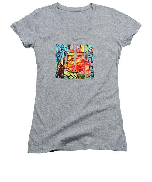 Colorful Dream Women's V-Neck