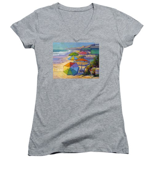 Colors Of Crystal Cove Women's V-Neck