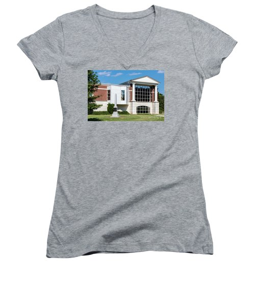 Columbia County Main Library - Evans Ga Women's V-Neck
