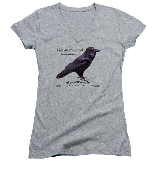 Common Raven Women's V-Neck
