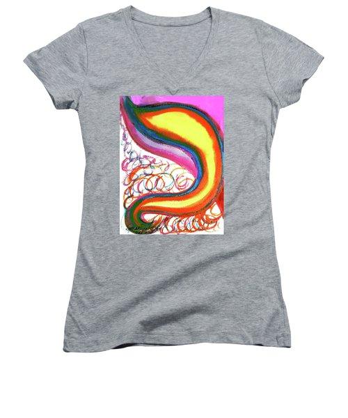 Cosmic Caf Ca4 Women's V-Neck