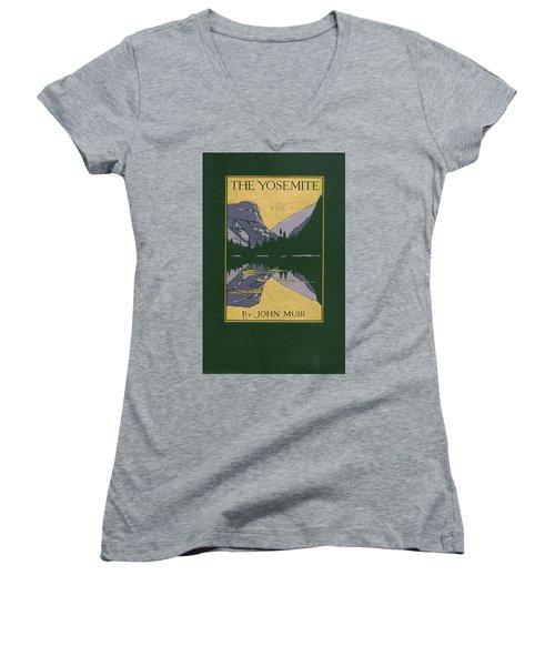 Cover Design For The Yosemite Women's V-Neck
