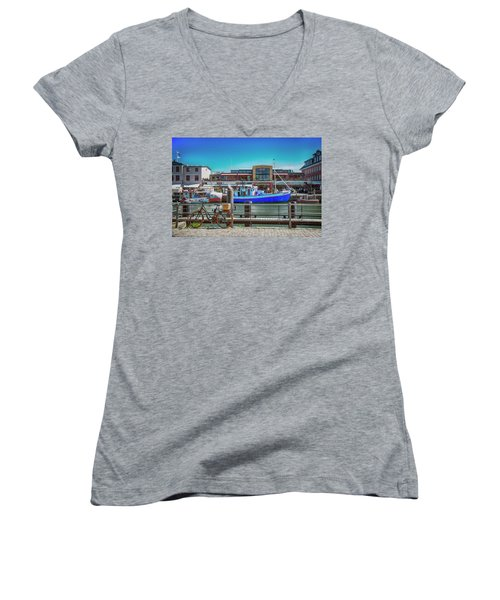 Cycle Or Sail Women's V-Neck
