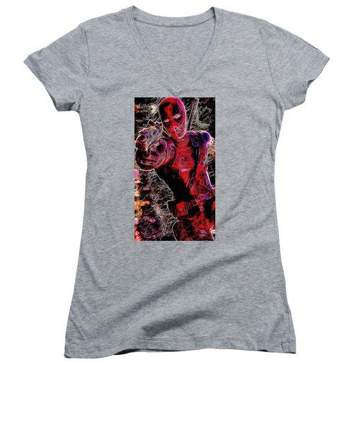 Deadpool Women's V-Neck