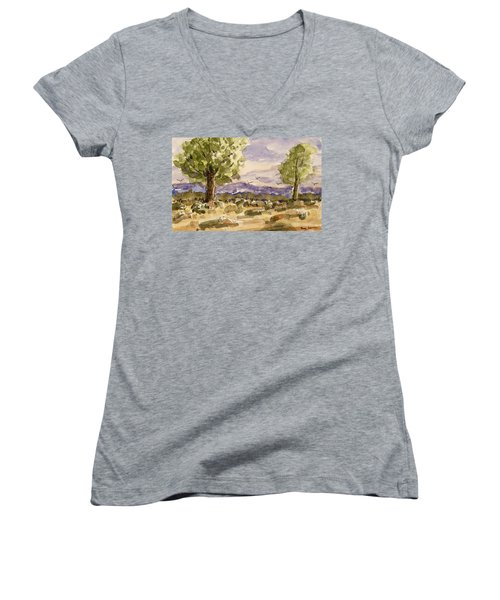 Desolate Women's V-Neck