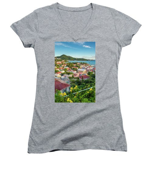 Downtown Women's V-Neck