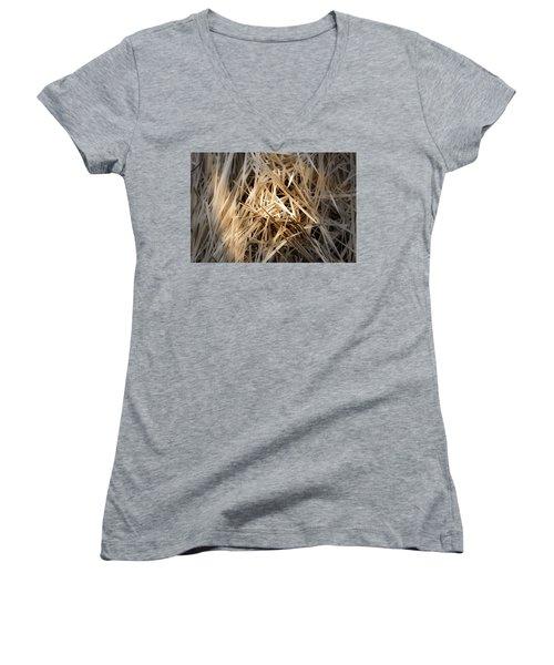Dried Wild Grass I Women's V-Neck
