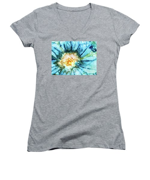 Eco Dyed Cosmos Women's V-Neck