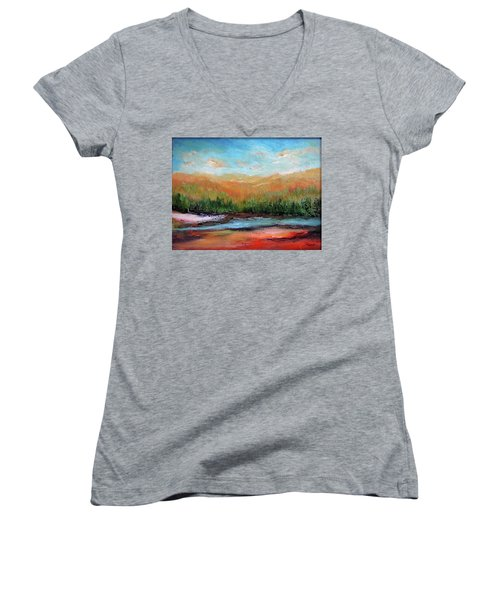 Edged Habitat Women's V-Neck