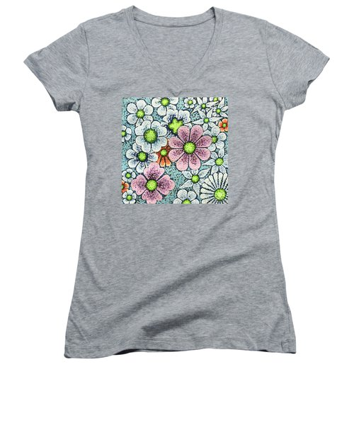 Efflorescent 1 Women's V-Neck