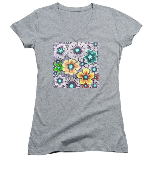 Efflorescent 11 Women's V-Neck