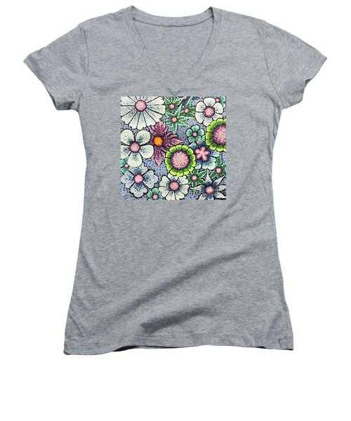 Efflorescent 8 Women's V-Neck