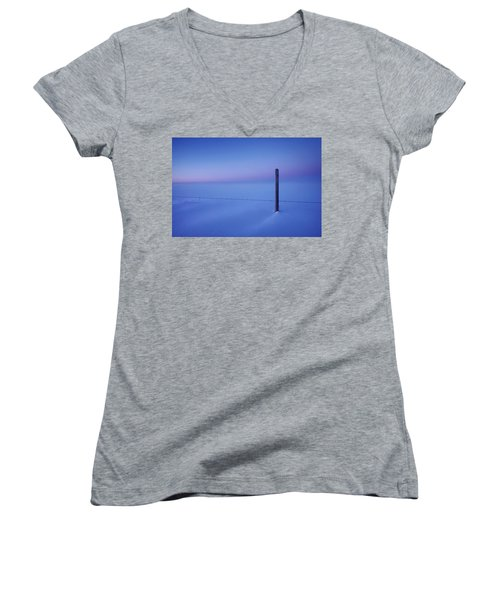 Empty And Cold Women's V-Neck