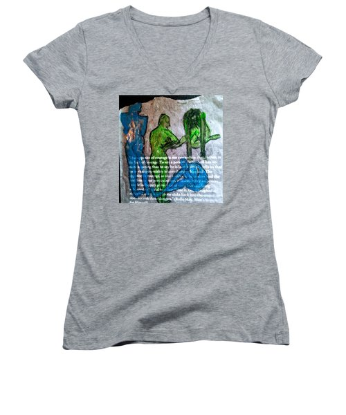 Fear Of The Inexplicable Women's V-Neck