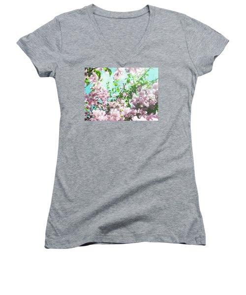 Floral Dreams V Women's V-Neck