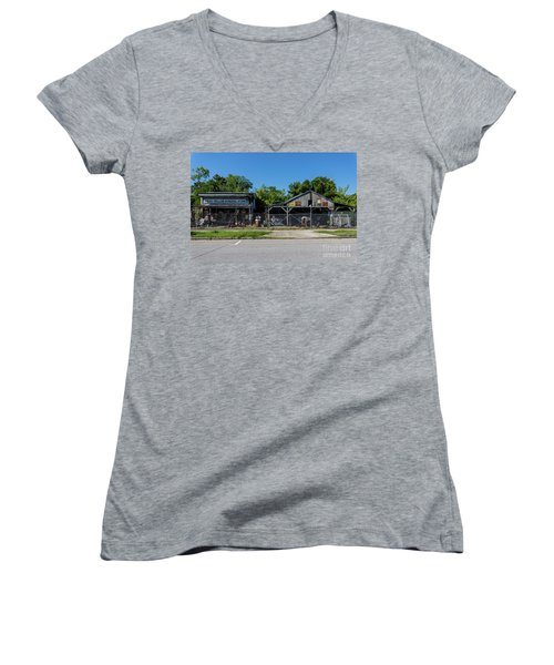 Frog Hollow General Store - Augusta Ga Women's V-Neck
