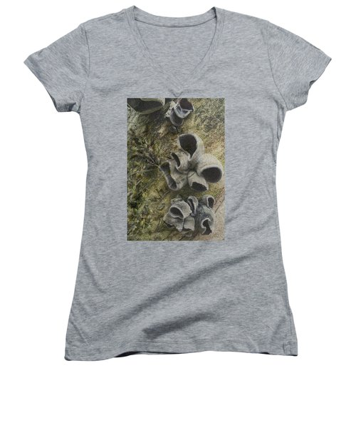 Fungi And Algae Women's V-Neck