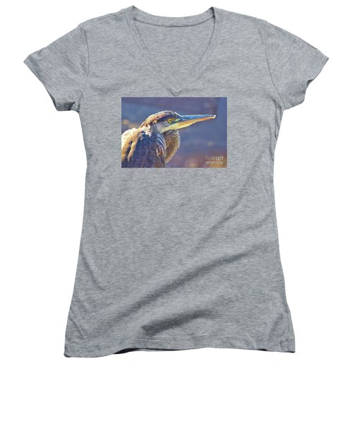 Gbh Waiting For Food Women's V-Neck