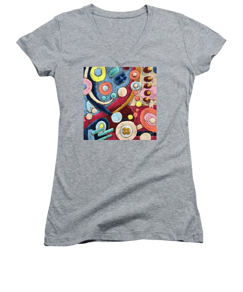 Geometric Abstract 2 Women's V-Neck