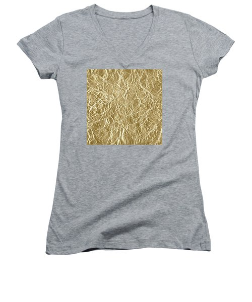 Gold Cute Gift Women's V-Neck