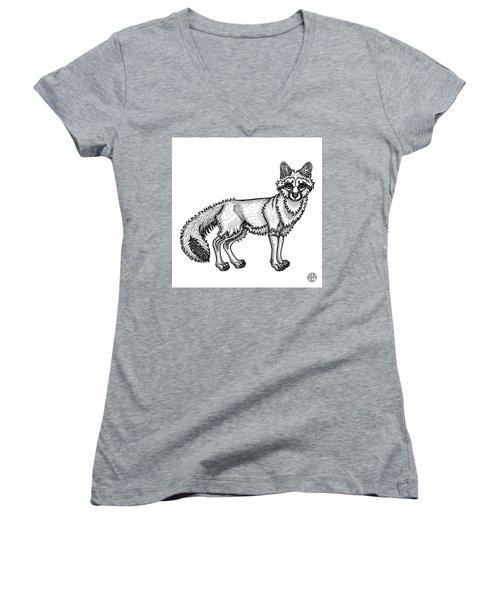Gray Fox Women's V-Neck