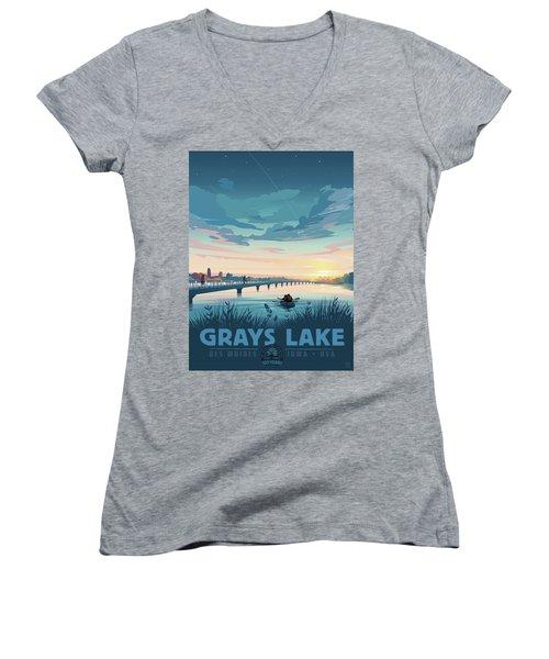 Grays Lake Women's V-Neck