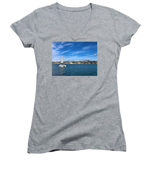 Harbor Sailing Women's V-Neck