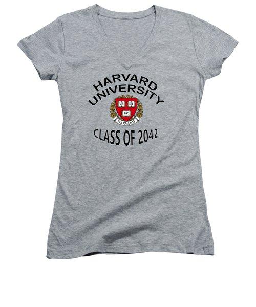 Harvard University Class Of 2042 Women's V-Neck