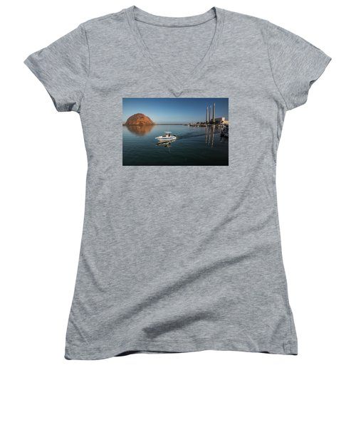 Heading Out Early Women's V-Neck