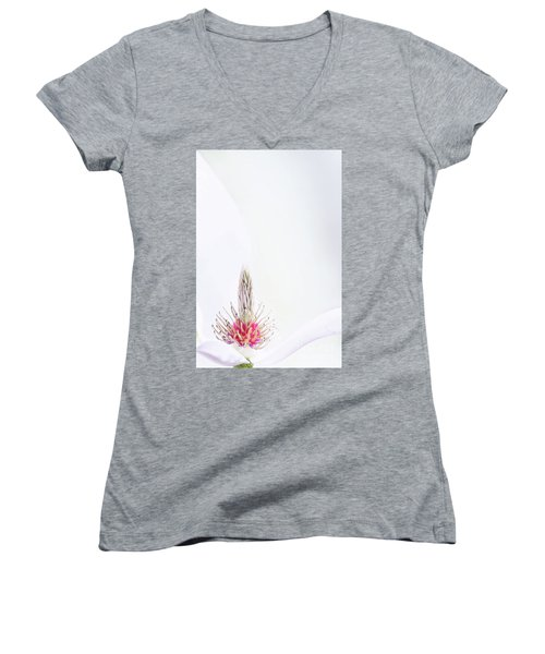 The Heart Of A Magnolia Women's V-Neck
