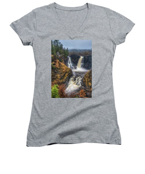 High Falls Women's V-Neck