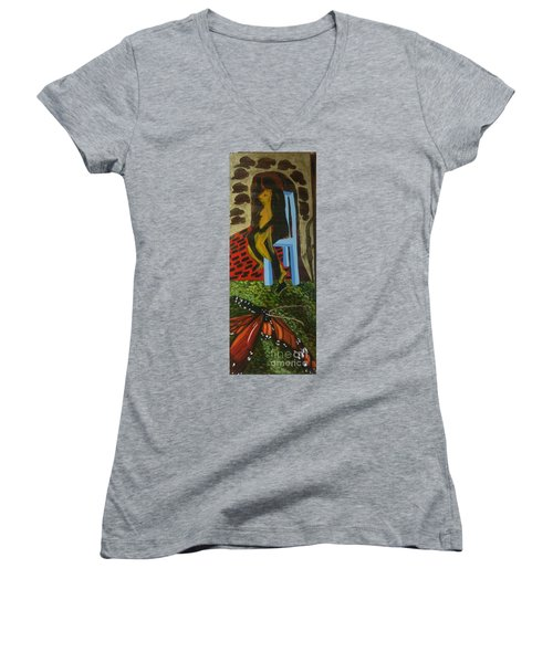 Humans And Their Capabilities Women's V-Neck