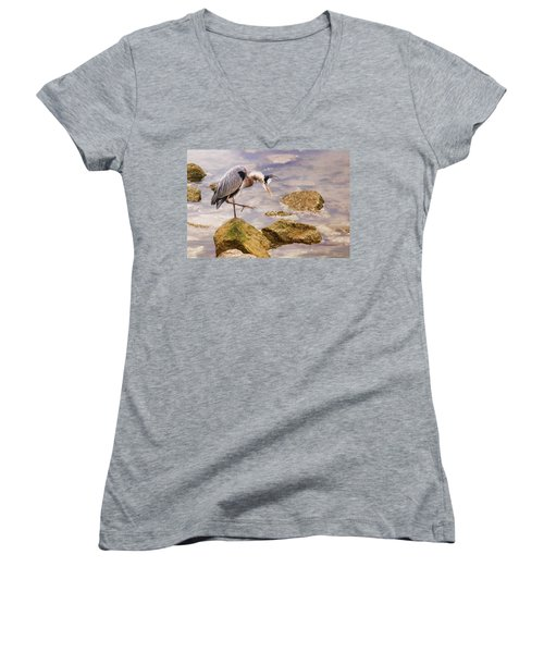 One Step At A Time Women's V-Neck