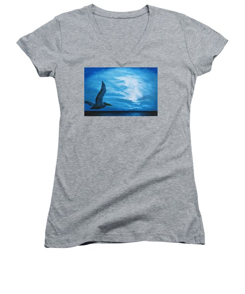 Out Of The Blue Women's V-Neck