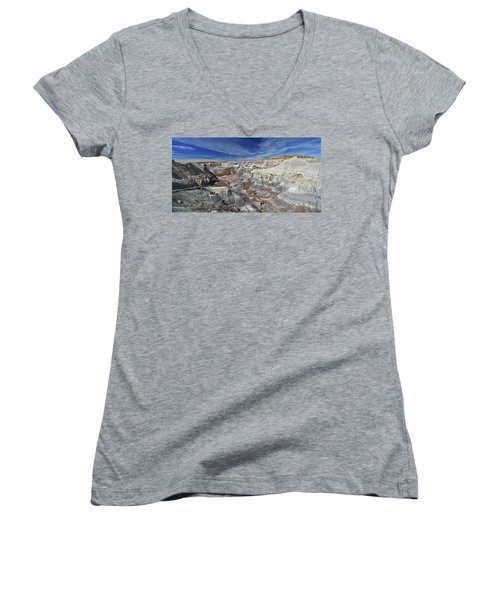 Into The Past Women's V-Neck