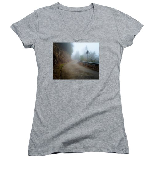 Is Anyone Coming? Women's V-Neck