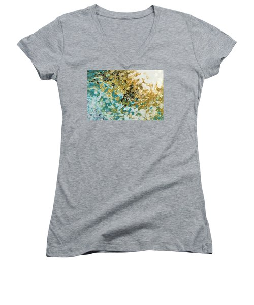 Isaiah 26 3. In Perfect Peace Women's V-Neck