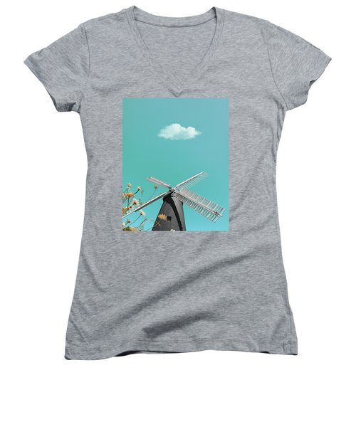 Just Breathe Women's V-Neck