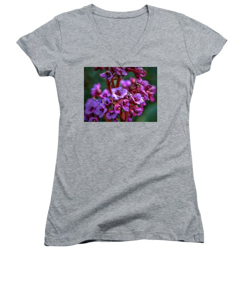 Lilac #h9 Women's V-Neck