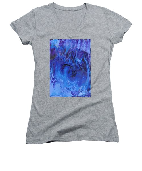 Living Water Abstract Women's V-Neck