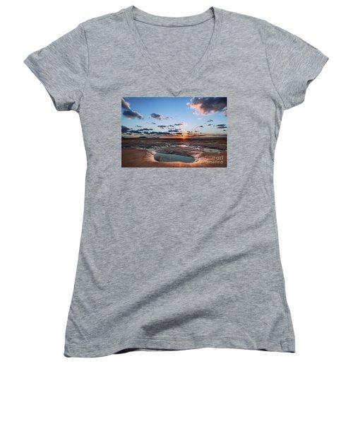 Llangennith Beach Women's V-Neck