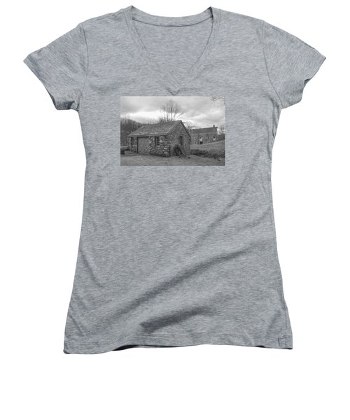 Lock House And Store - Waterloo Village Women's V-Neck