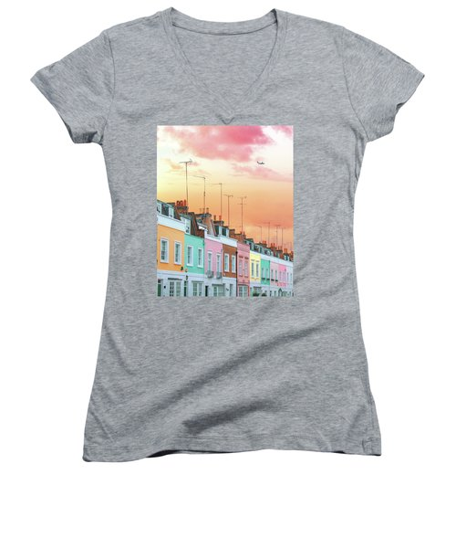 London Dreams Women's V-Neck