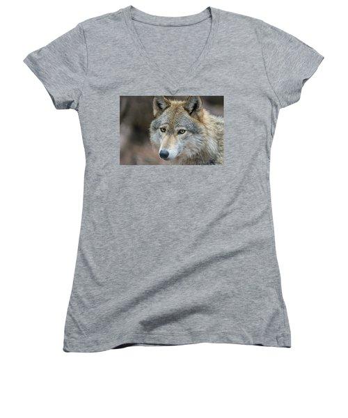 Lone Wolf Women's V-Neck