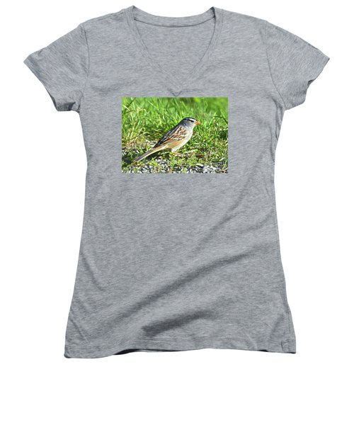 Looking For Food Women's V-Neck